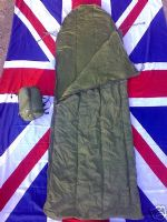 NEW MILITARY ARMY BRITISH ISSUE JUNGLE SLEEPING BAG